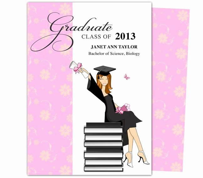 Free Downloadable Graduation Invitations Unique Printable Diy Grad Announcements Feminine Wealth Design