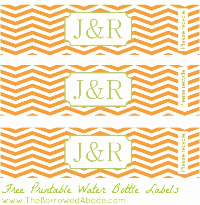 Free Downloadable Water Bottle Labels Beautiful Free Printable Water Bottle Labels