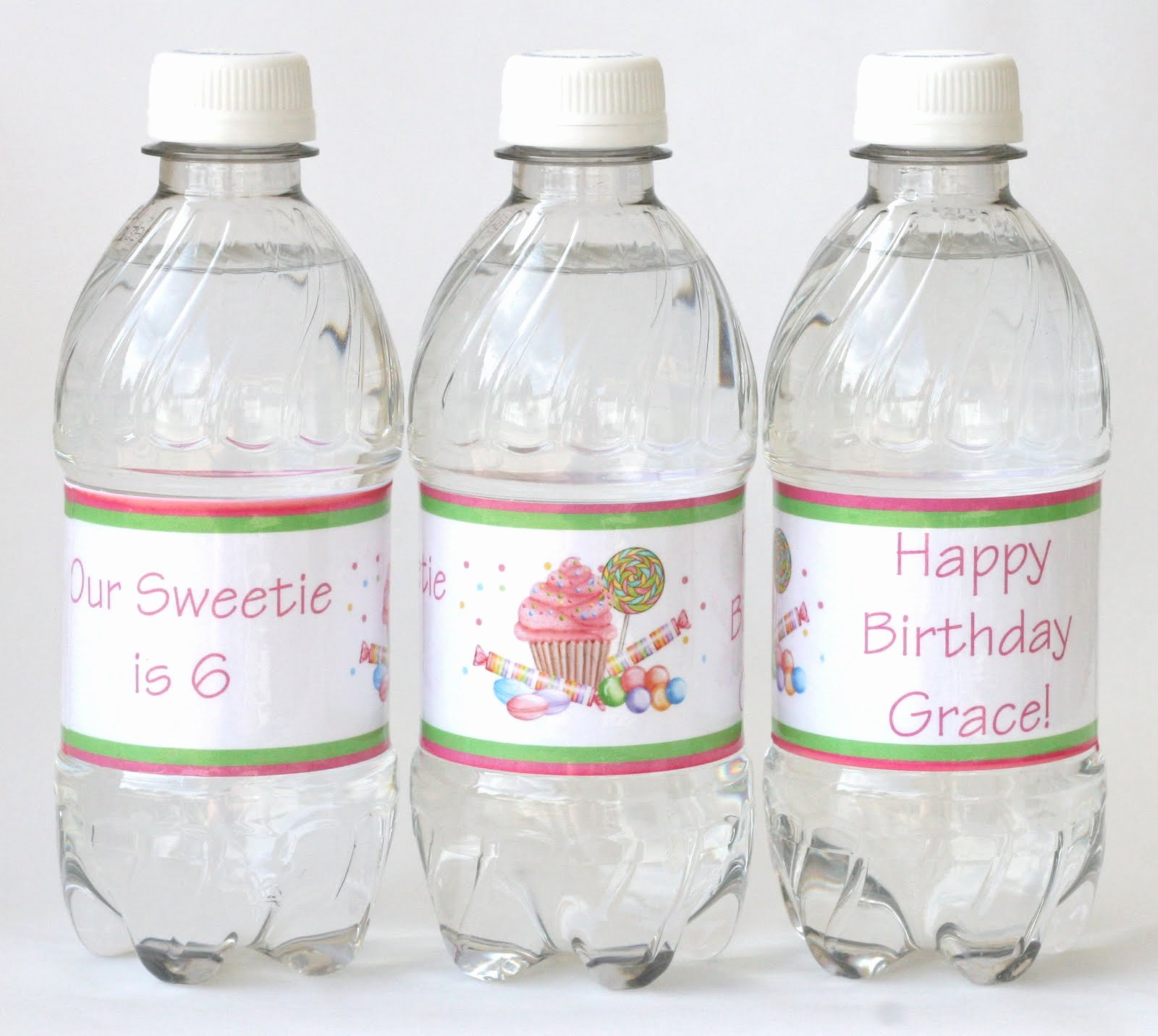 Free Downloadable Water Bottle Labels Inspirational How to Make Custom Water Bottle Labels Glorious Treats