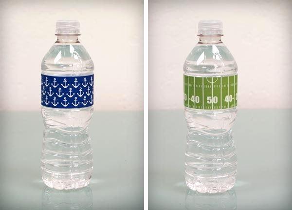 Free Downloadable Water Bottle Labels Unique Free Water Bottle Label Printables