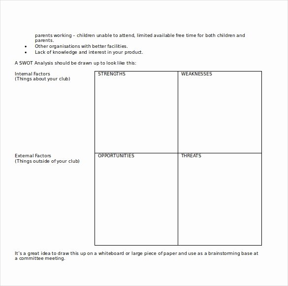 Free Downloadable Word Templates Awesome 23 Microsoft Word Swot Analysis Templates – Word