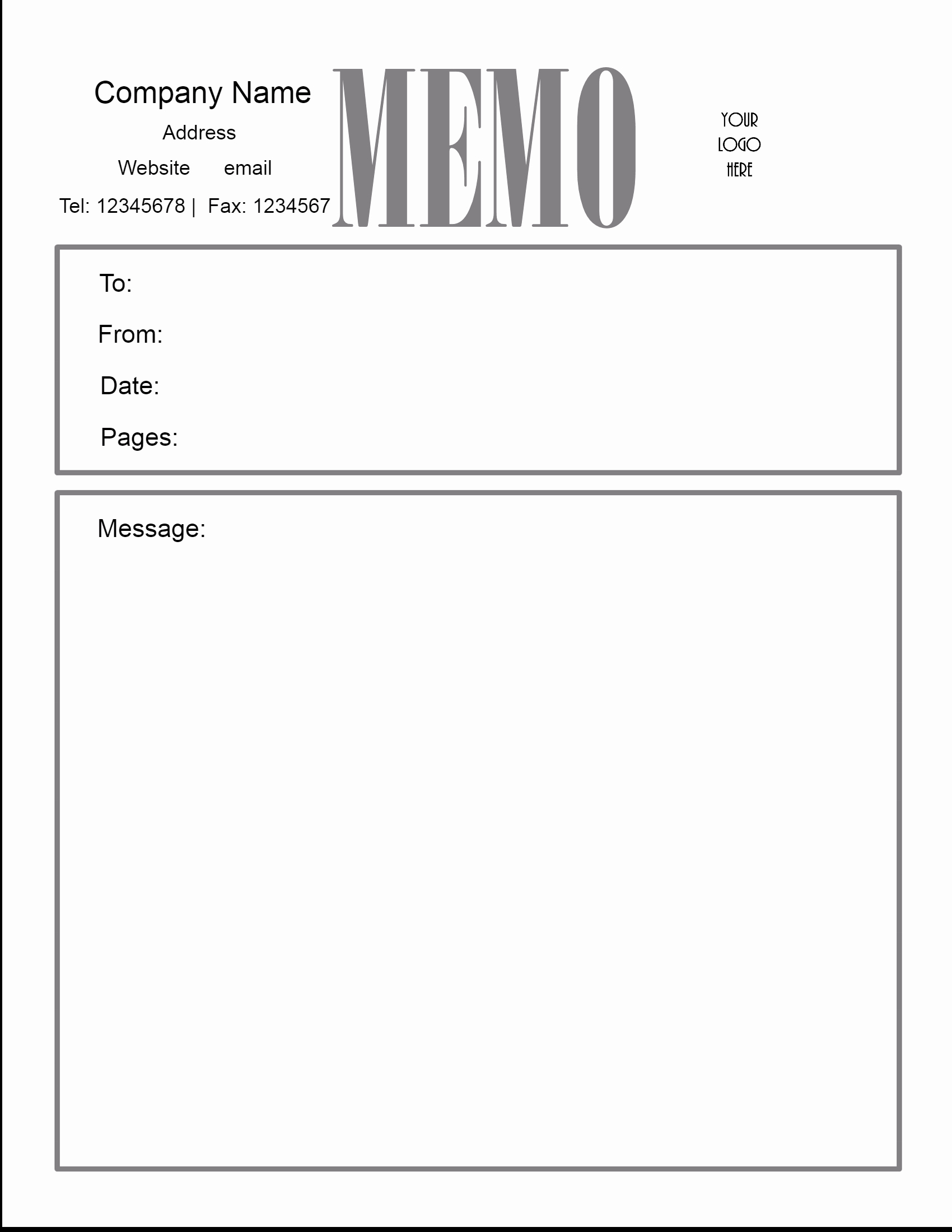 Free Downloadable Word Templates Best Of Free Microsoft Word Memo Template