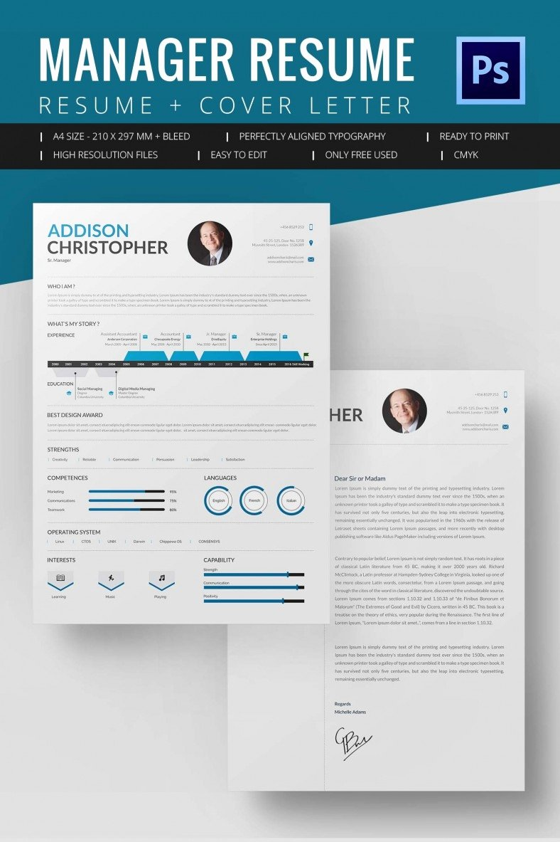 Free Downloadable Word Templates Best Of Project Manager Resume Template 10 Free Word Excel