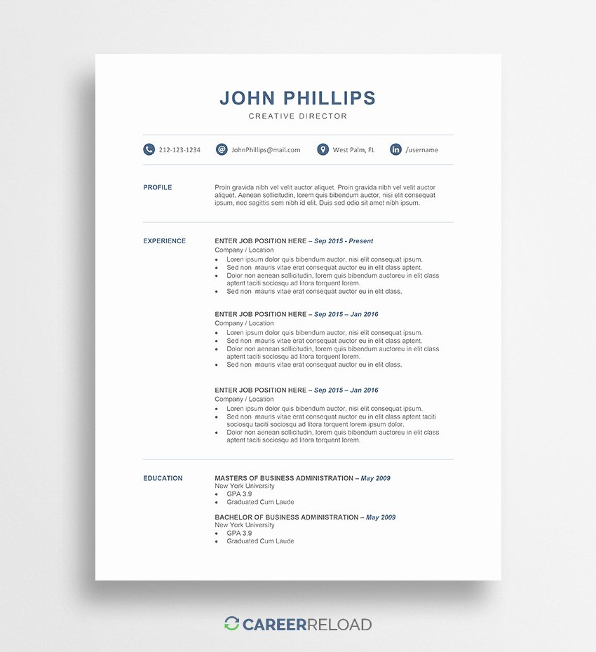 Free Downloadable Word Templates Elegant Download Free Resume Templates Free Resources for Job