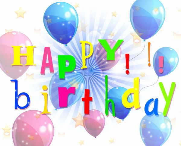 Free Downloads Happy Birthday Images Awesome Happy Birthday Background Free Vector In Adobe Illustrator