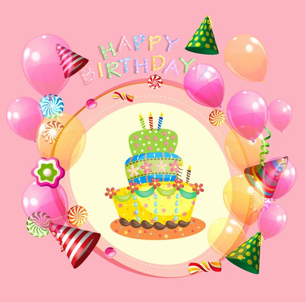Free Downloads Happy Birthday Images Luxury Free Happy Birthday Images Free Vector