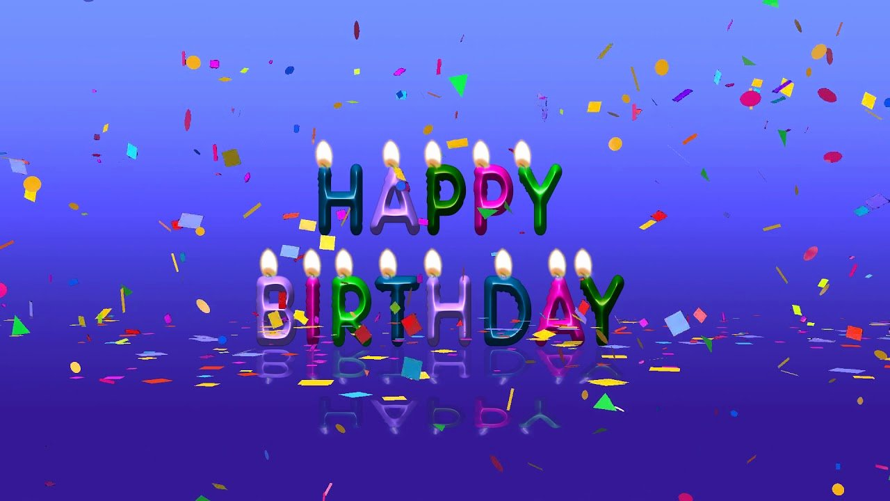 Free Downloads Happy Birthday Images New Colorful Happy Birthday Animation Video Free Download