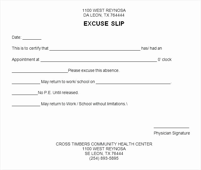 Free Dr Excuse Template Luxury 40 Fake Doctors Note Template Download [pdf Doc]