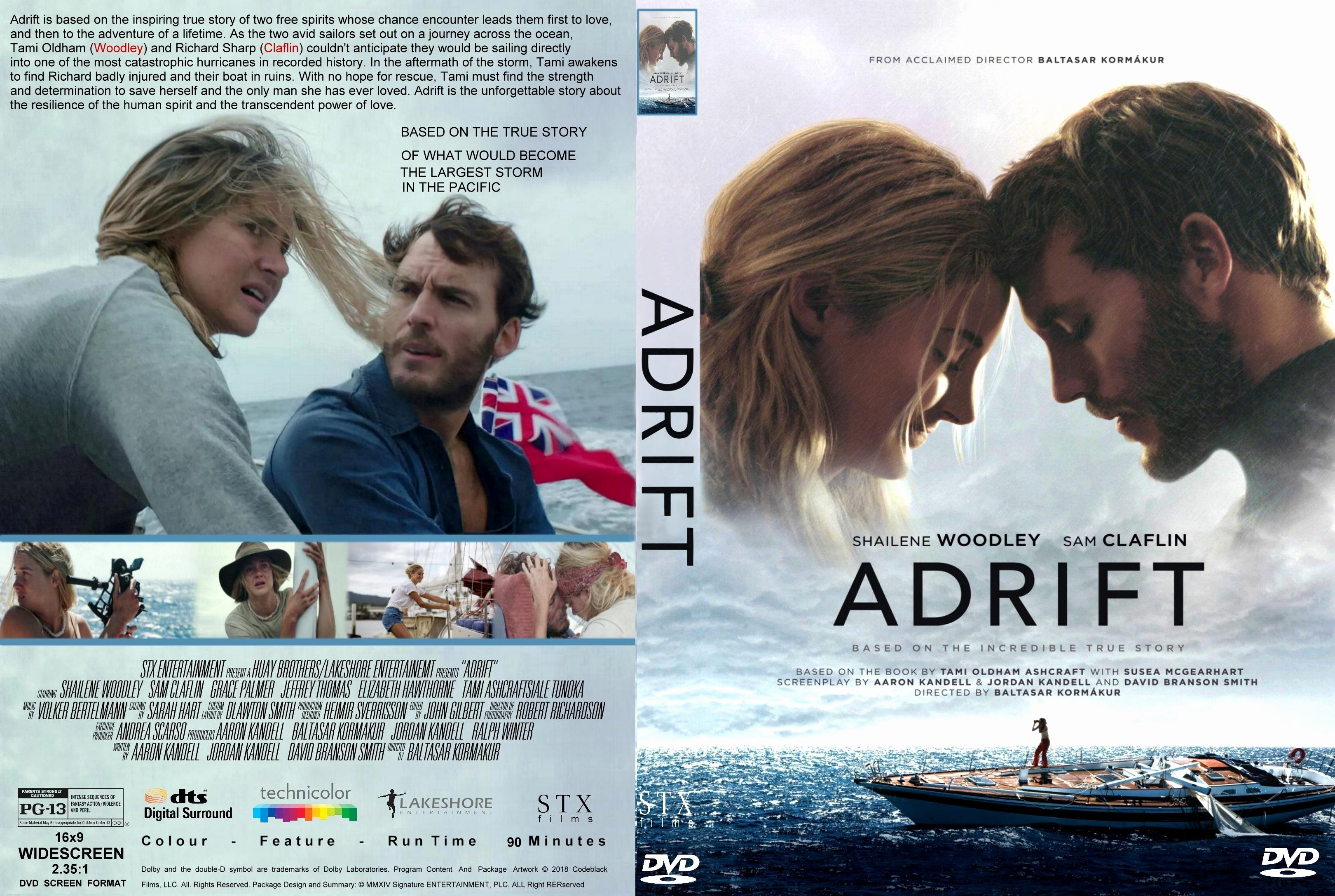 Free Dvd Cover Art Awesome Adrift 2018 Front Dvd Covers Cover Century