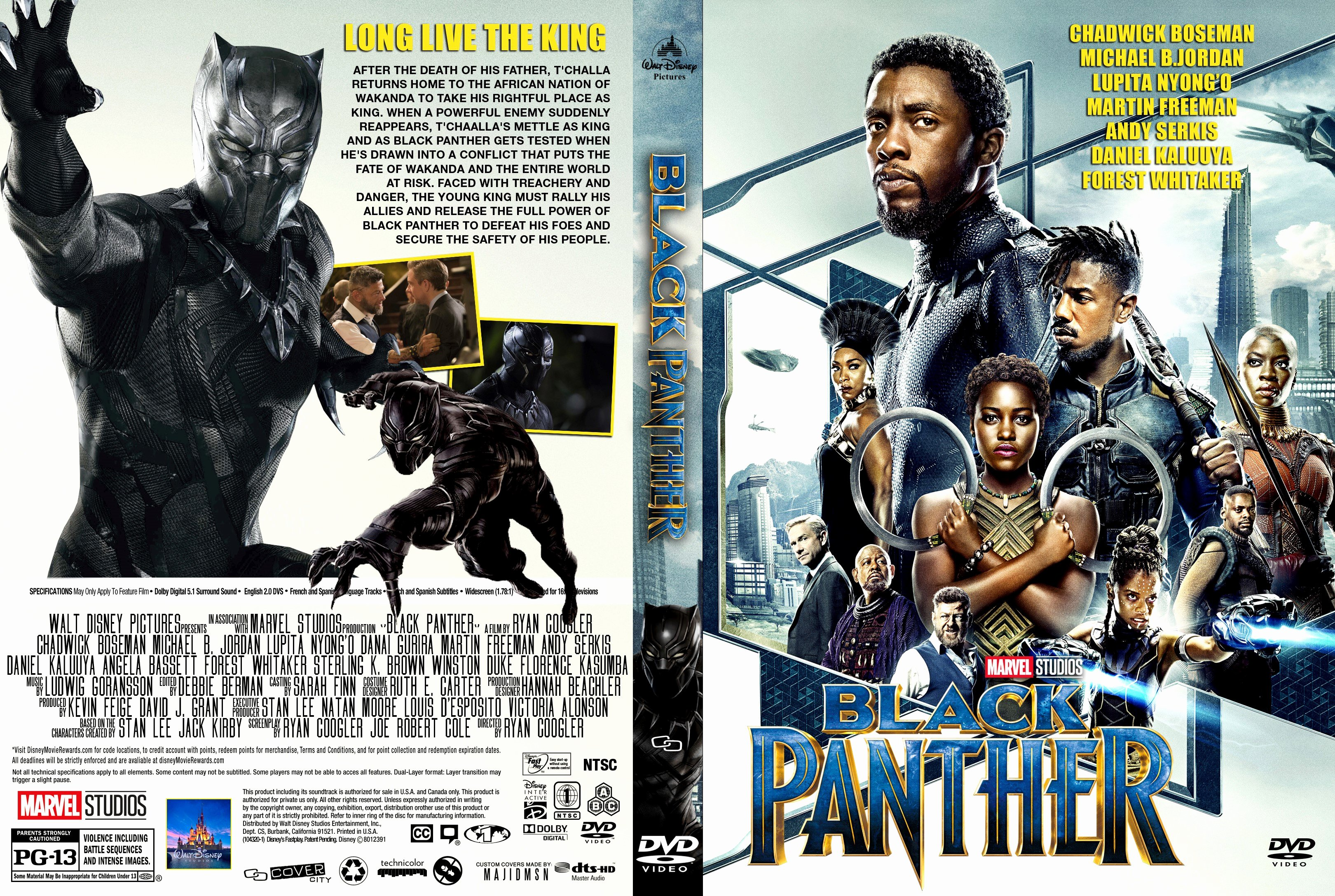 Free Dvd Cover Art Best Of Black Panther Dvd Cover Cover Addict Free Dvd Bluray