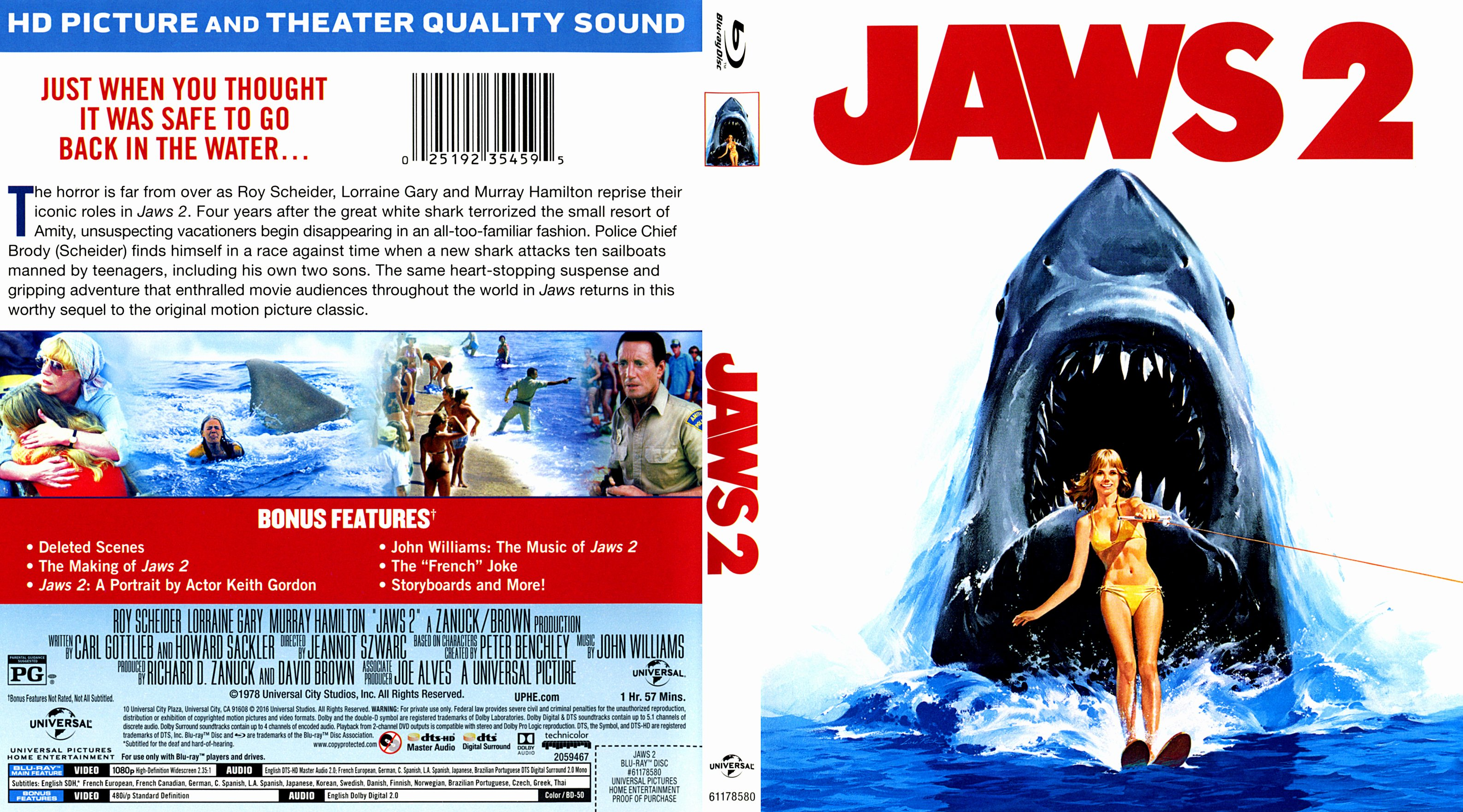 Free Dvd Cover Art Fresh Jaws 2 Blu Ray Covers Cover Century