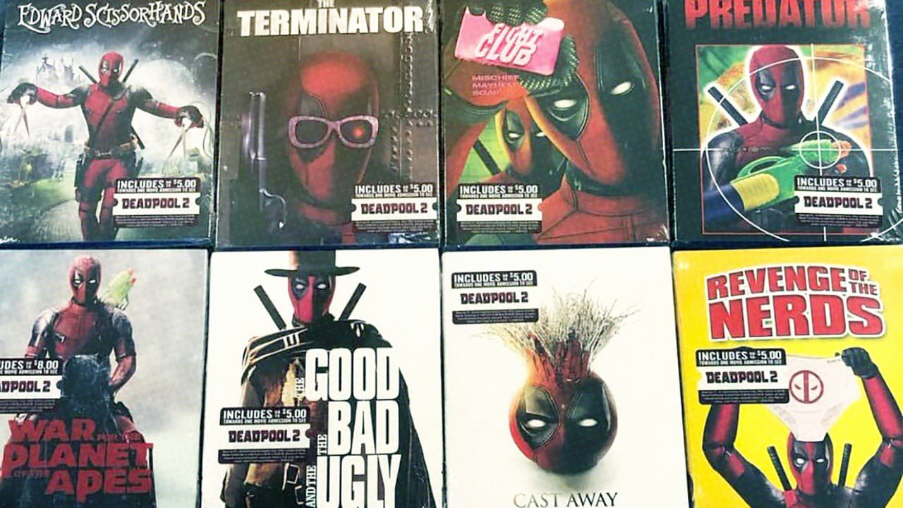 Free Dvd Cover Art Luxury Deadpool Hijacked the Dvd Covers Of 16 Movies sold at Walmart