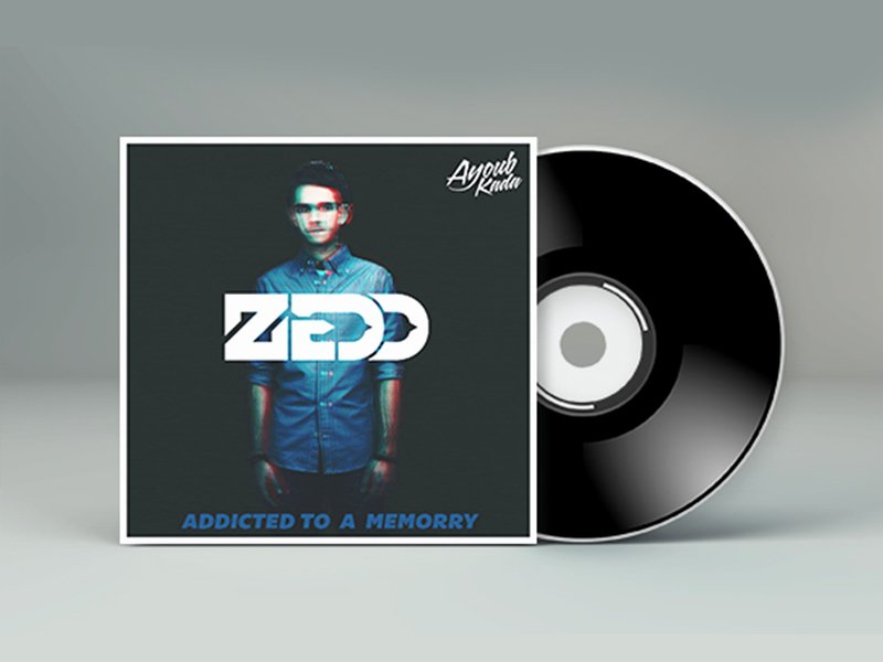 Free Dvd Cover Art Luxury Zedd Mixtape Cd Cover Free Psd File Tutorial by Kadayoub