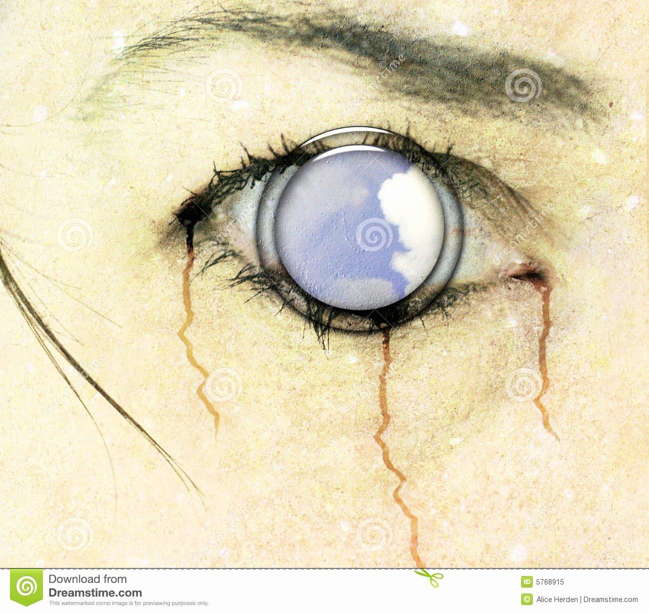 Free Dvd Cover Art New Horror Eye Cd Cover Art Royalty Free Stock Image