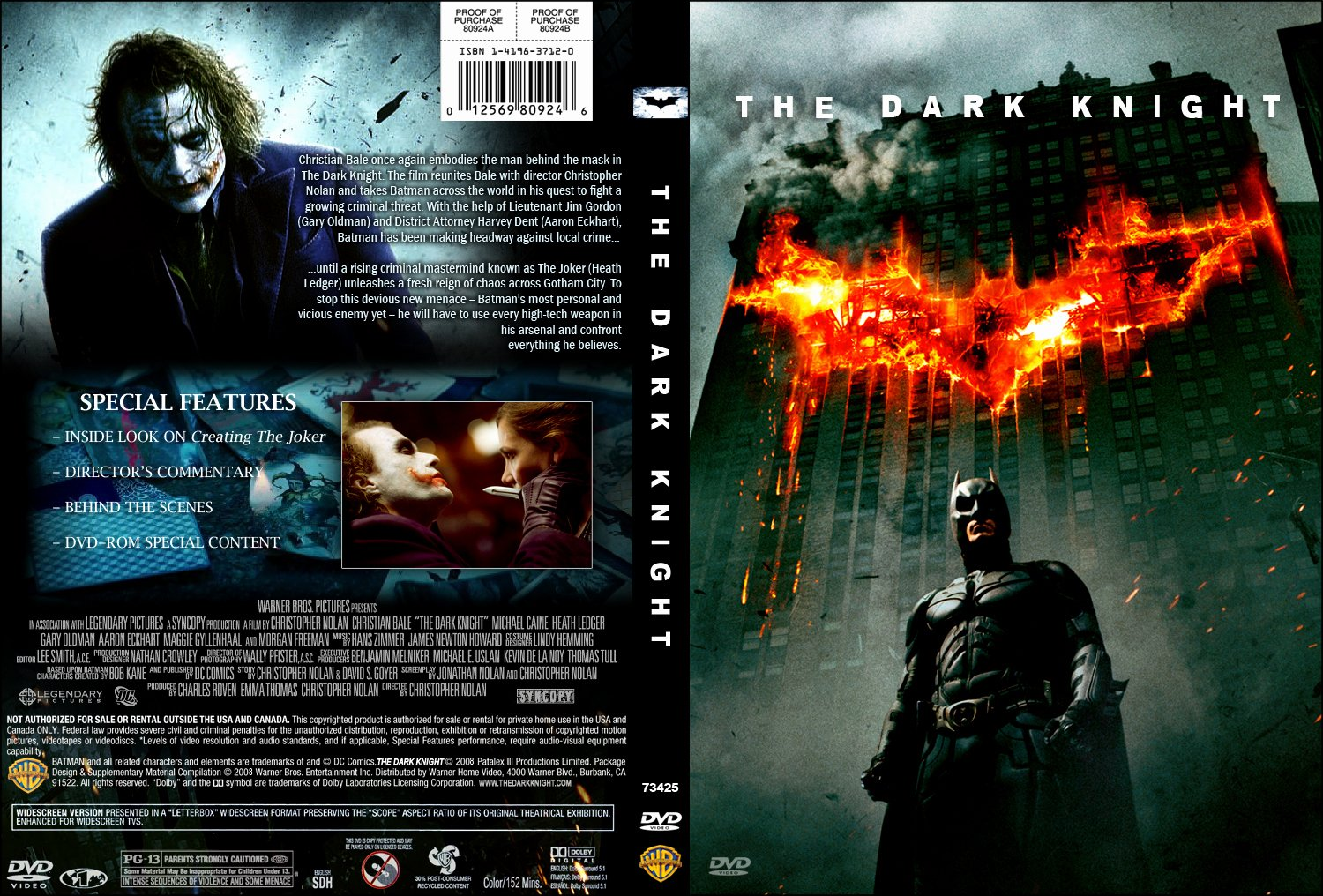 Free Dvd Cover Art New the Dark Knight Dvd Cover Movie Covers