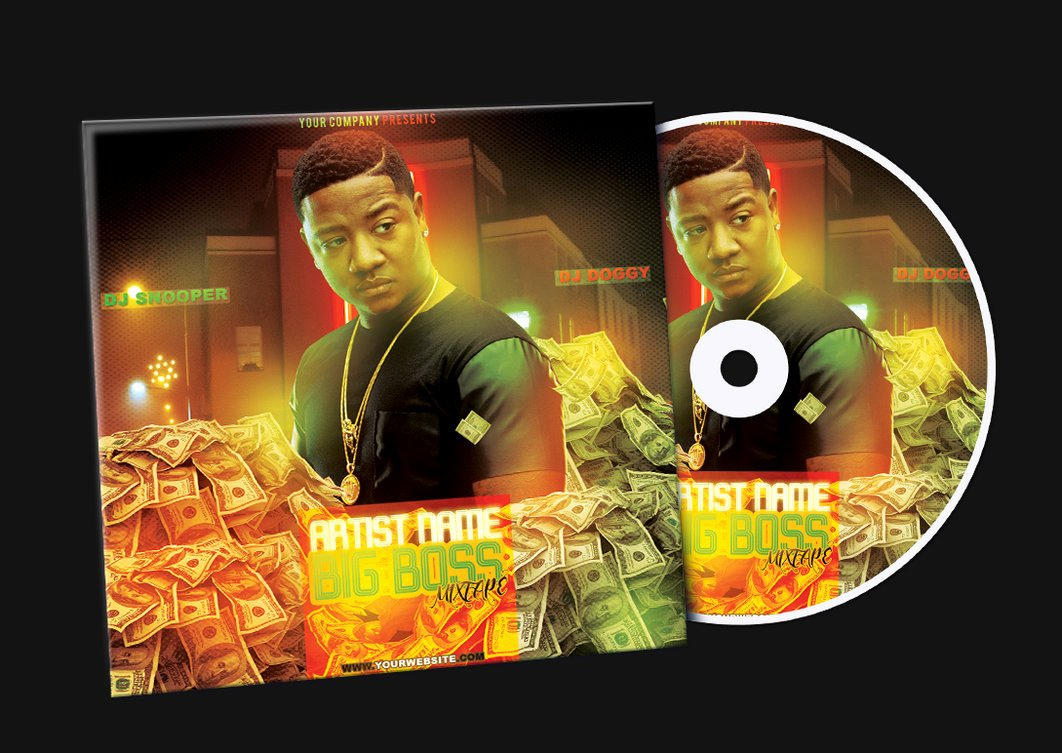 Free Dvd Cover Art Unique Money Mixtape Cd Cover Free Psd Template by Klarensm On