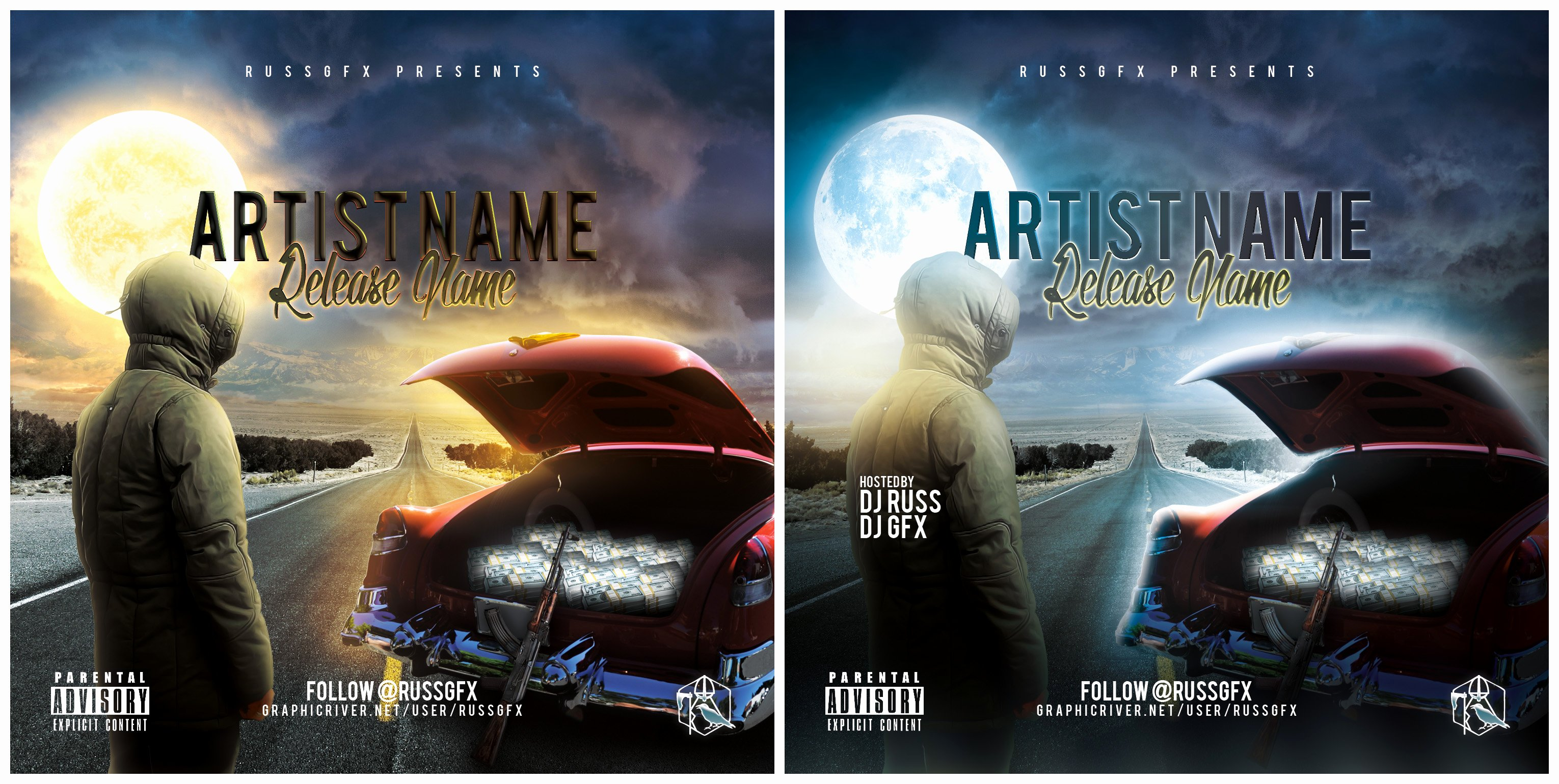 Free Dvd Cover Art Unique the Road Psd Cd Cover Template Free Download by Russgfx