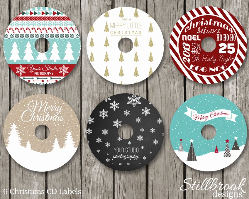 Free Dvd Label Template Inspirational Christmas Cd Dvd Label Template Set Xmas Holiday Cd Stickers