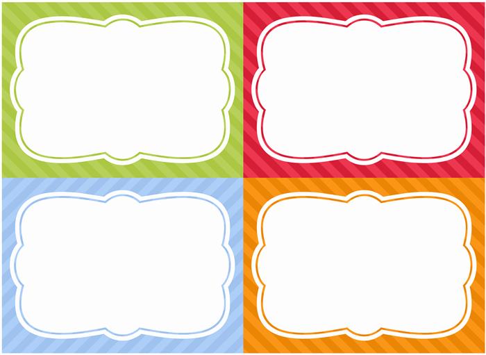 Free Editable Printable Labels Elegant Free Printable Home organization Labels