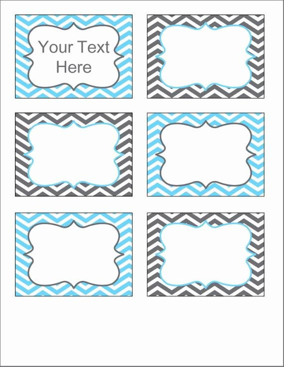 Free Editable Printable Labels Elegant Gray and Blue Chevron Labels Printable Pdf Editable Labels