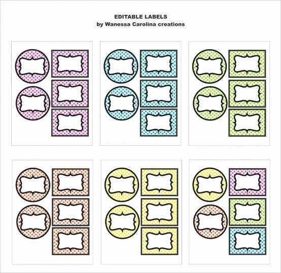 Free Editable Printable Labels Inspirational 1000 Images About Editable Binders Etc On Pinterest