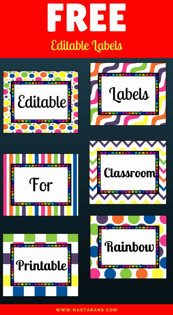 Free Editable Printable Labels Inspirational Best 20 Daycare Storage Ideas On Pinterest