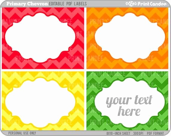 Free Editable Printable Labels Inspirational Rectangle Editable Pdf 8x10 Printable Labels Cards
