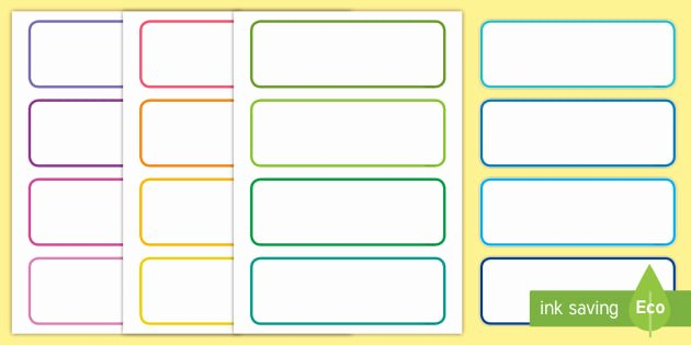 Free Editable Printable Labels New Free Editable Drawer Peg Name Labels Blank