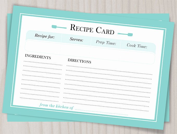 Free Editable Recipe Card Templates Elegant 43 Amazing Blank Recipe Templates for Enterprising Chefs