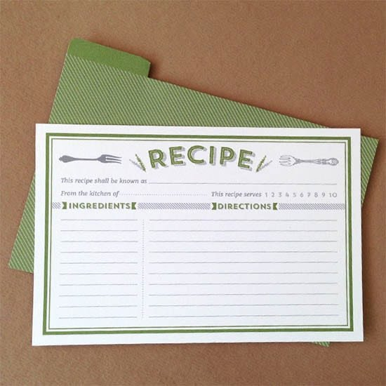 Free Editable Recipe Card Templates Unique 8 Free Recipe Card Templates Excel Pdf formats