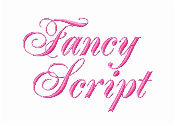 Free Embroidery Fonts Downloads Inspirational 9 Embroidery Fonts Free Sample Example format