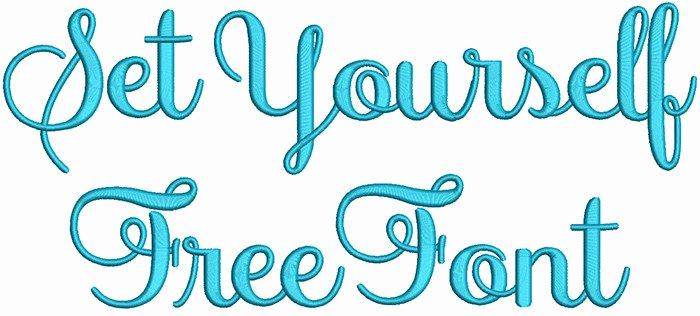 free embroidery fonts