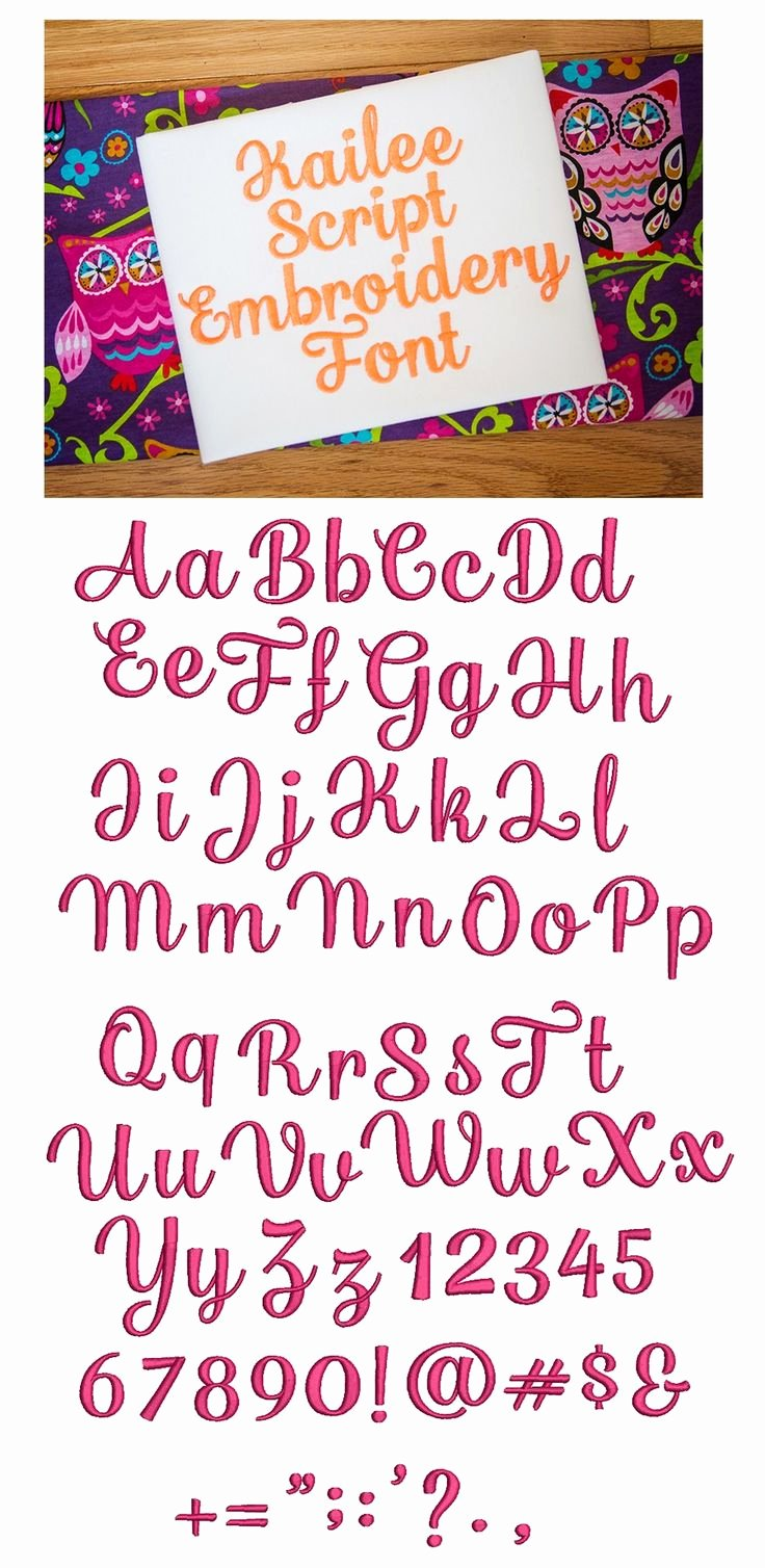Free Embroidery Fonts Downloads Luxury 25 Best Ideas About Embroidery Fonts On Pinterest