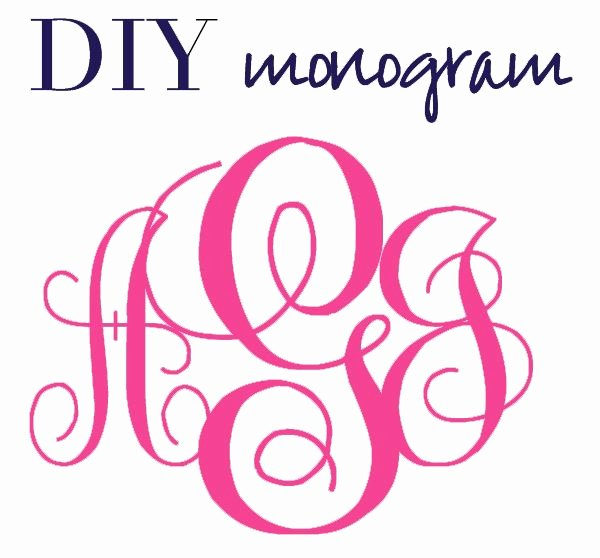 Free Embroidery Fonts Downloads New Create Monograms without Shop