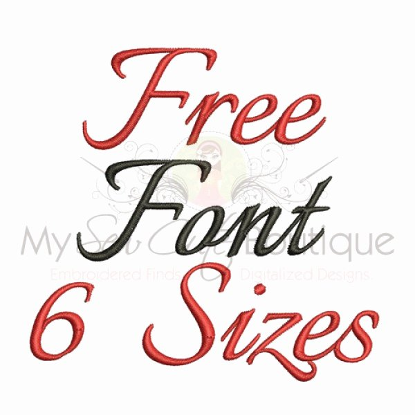 Free Embroidery Fonts Downloads Unique Free Embroidery Fonts Machine Embroidery Font