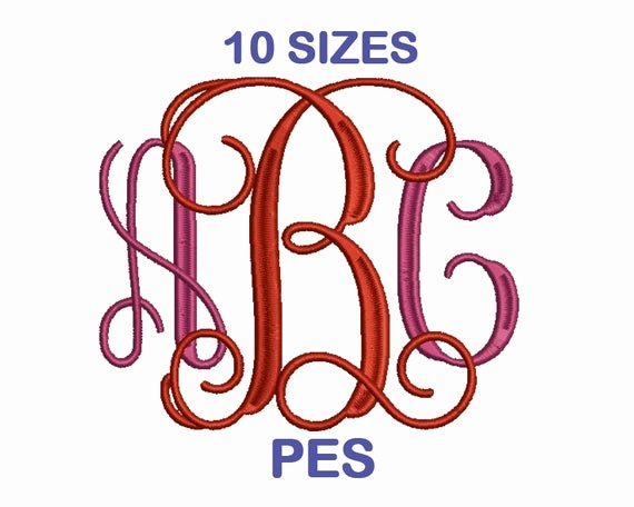 Free Embroidery Fonts Pes Luxury Free Embroidery Fonts Pes format