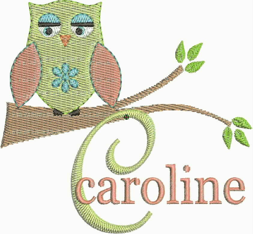 Free Embroidery Fonts Pes Unique Owl Machine Embroidery Designs Fonts New Pes Cd Brother