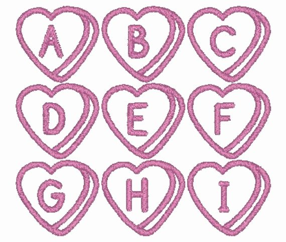 Free Embroidery Fonts Pes Unique Pes Only Sweetheart Font Machine Embroidery Monogram Set 4x4