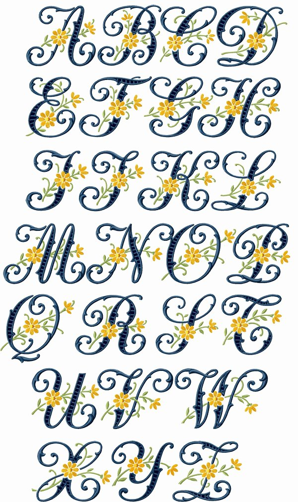 Free Embroidery Monogram Fonts Awesome Download Embroidery Font Free Embroidery & origami