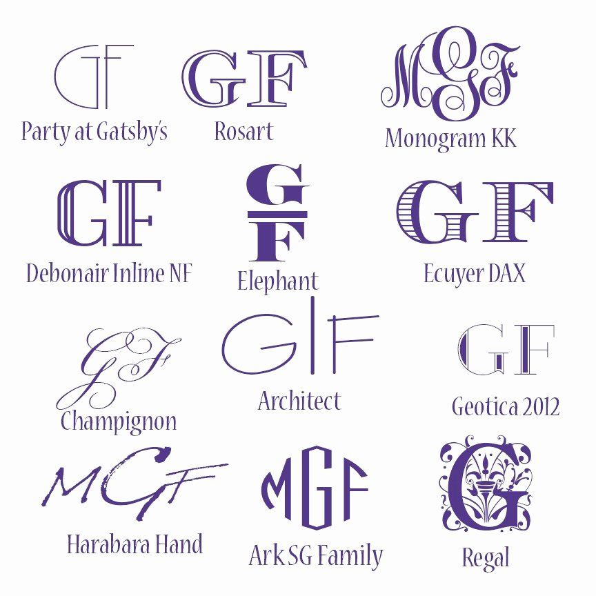 Free Embroidery Monogram Fonts Best Of Free Monogram Fonts My Graphic Fairy