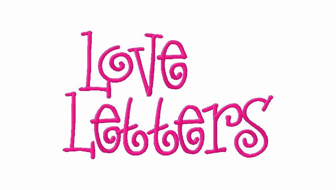 Free Embroidery Monogram Fonts Elegant Free Embroidery Font Set Love Letters – Daily Embroidery