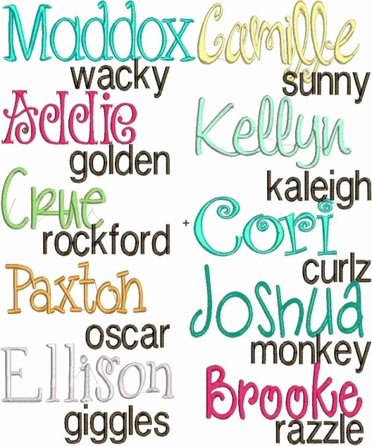 Free Embroidery Monogram Fonts Luxury 25 Best Ideas About Embroidery Monogram On Pinterest