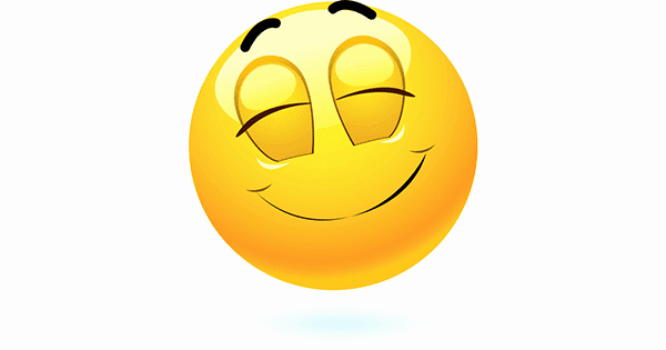Free Emoji Copy and Paste Awesome Satisfied Smile