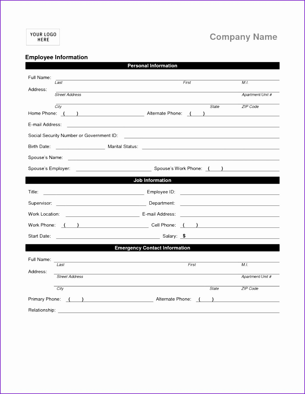 Free Employment Termination forms Luxury 6 Employee Separation Checklist