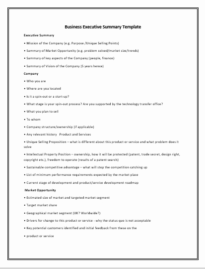 Free Executive Summary Template Beautiful 2 Executive Summary Templates