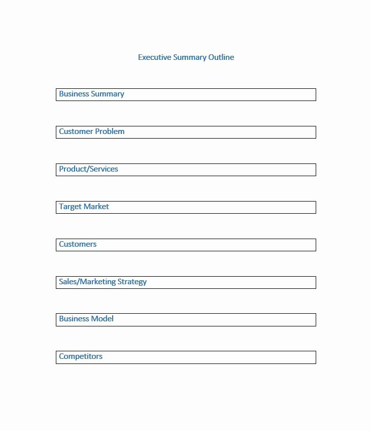 Free Executive Summary Template Fresh 30 Perfect Executive Summary Examples & Templates