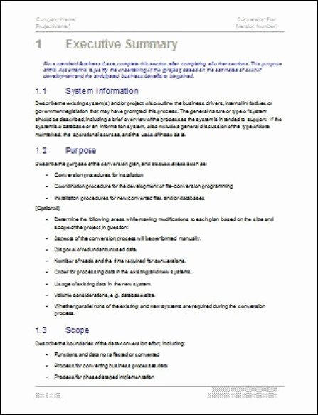 Free Executive Summary Template Luxury 43 Free Executive Summary Templates In Word Excel Pdf
