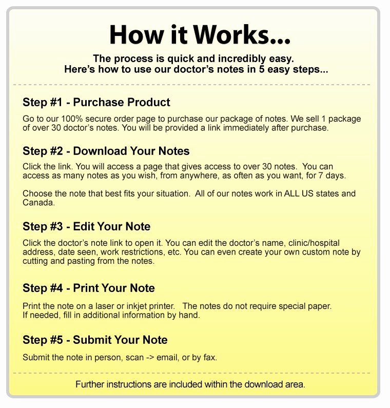 Free Fake Doctors Note Generator Awesome Fake Doctor S Notes & Excuses the Internet S 1 Resource