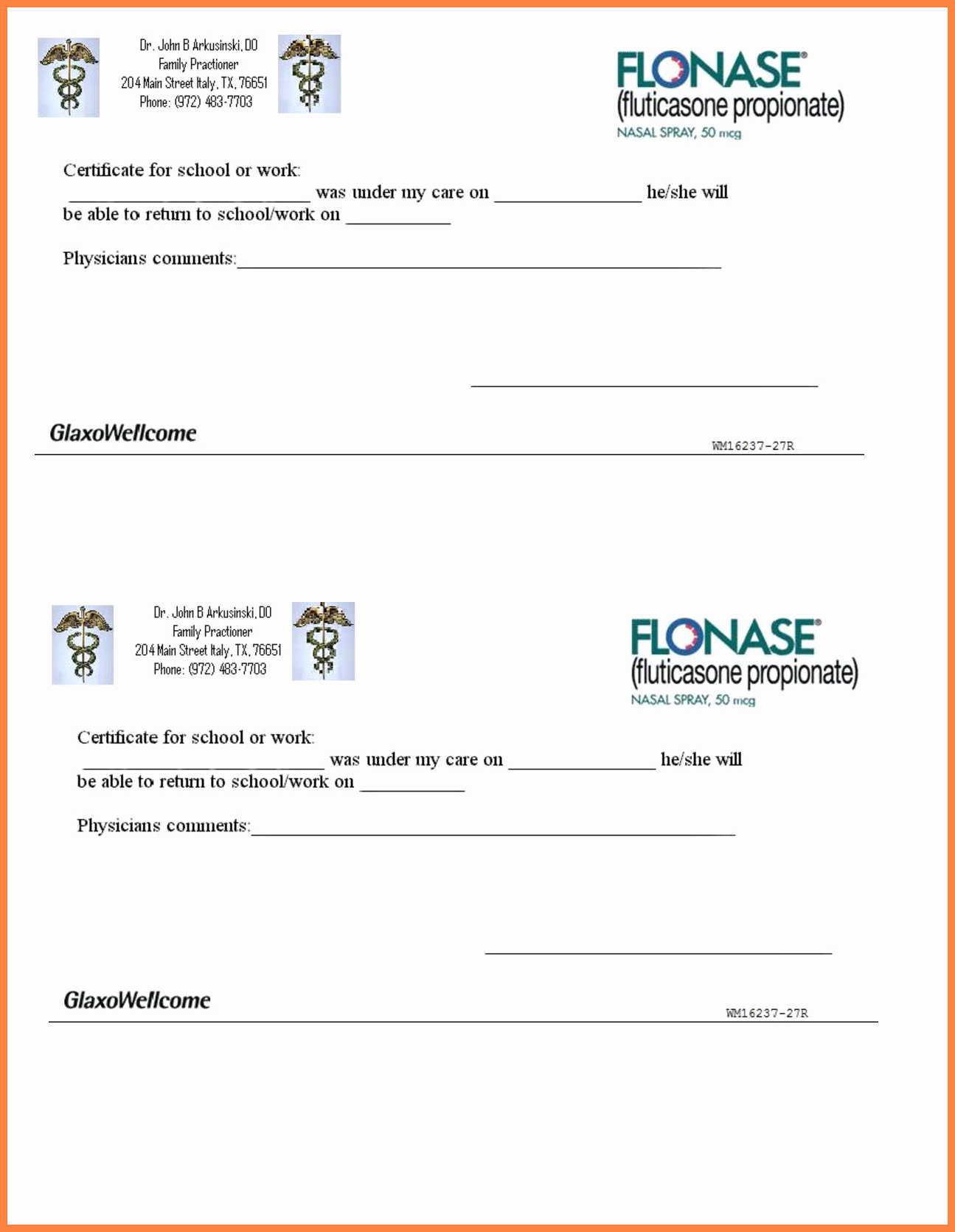 Free Fake Doctors Note Template New 10 Printable Fake Doctors Notes Free