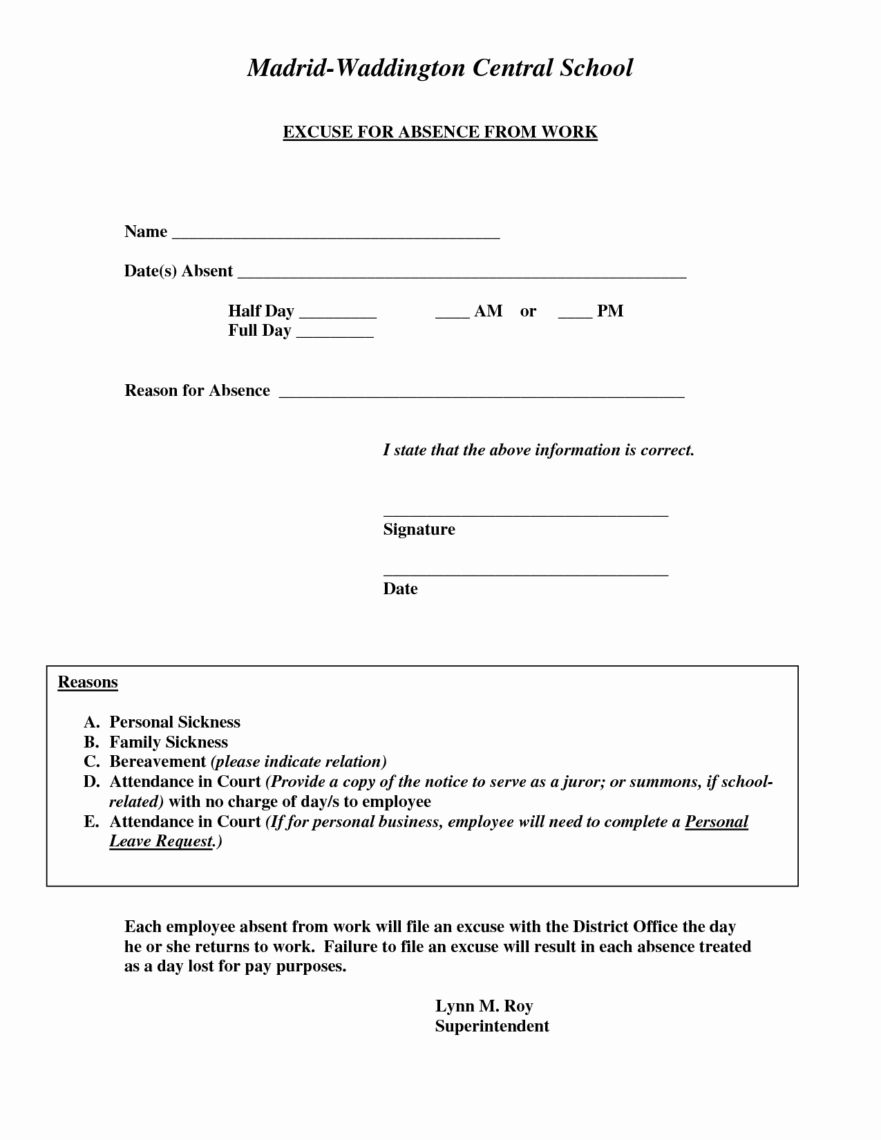 Free Fake Doctors Note Template New Doctors Excuse for Work Template